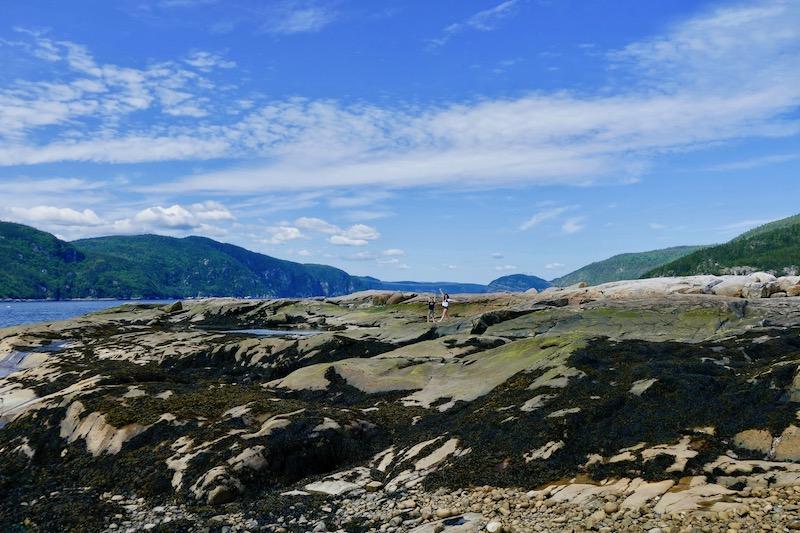 La pointe de l'Islet à Tadoussac