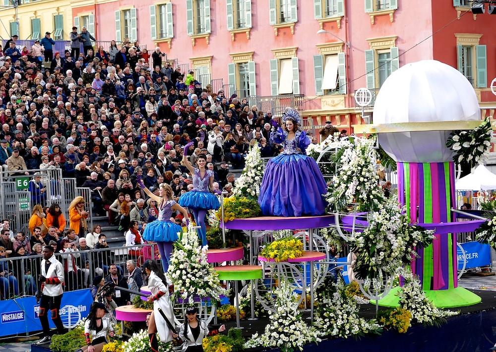 Bataille des fleurs de Nice
