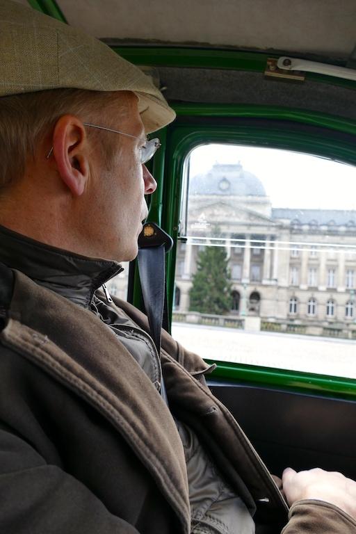 Visite guidée de Bruxelles en 2 CV