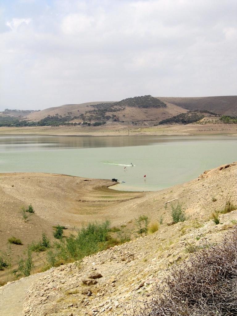 Base nautique au lac de lalla takerk