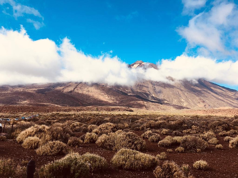 Le Volcan Teide à Tenerife