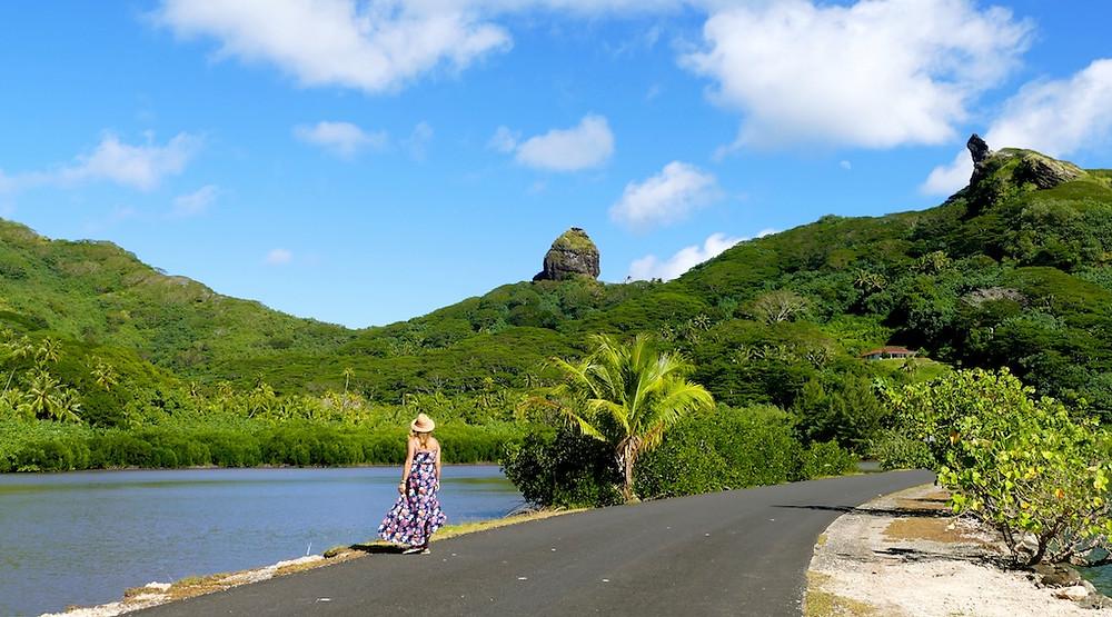 Baie de Maroe à Huahine
