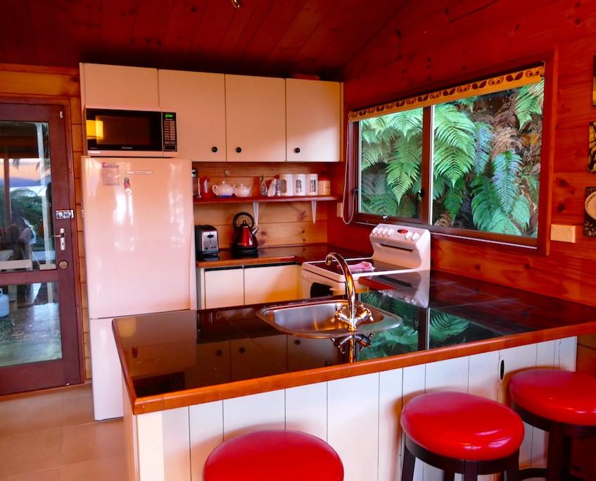 Maison près du lac Tarawera