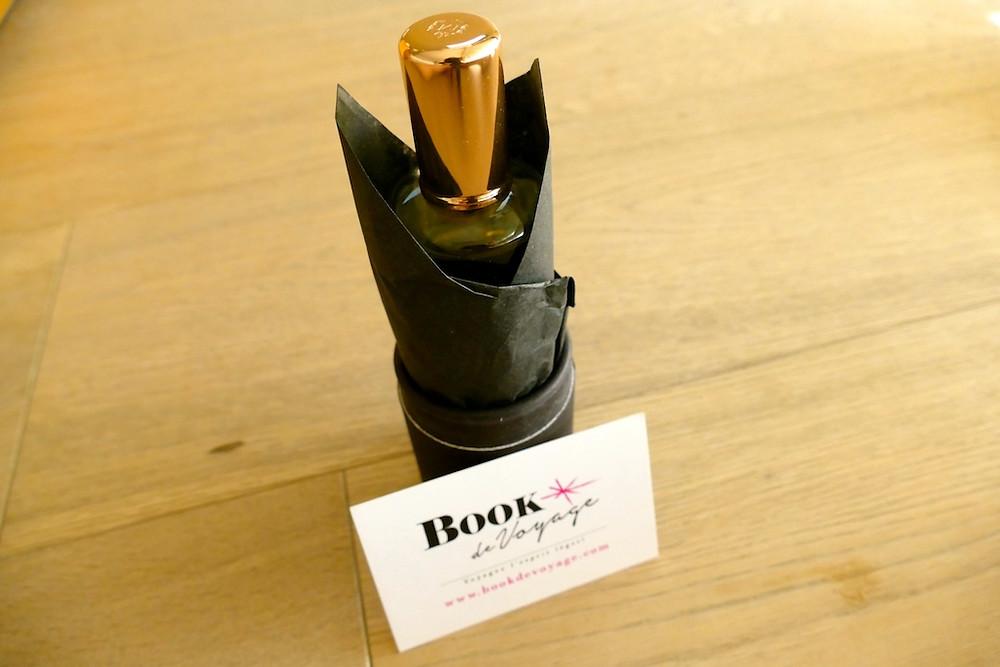 Mon parfum personnalisé Book de voyage Molinard à Nice