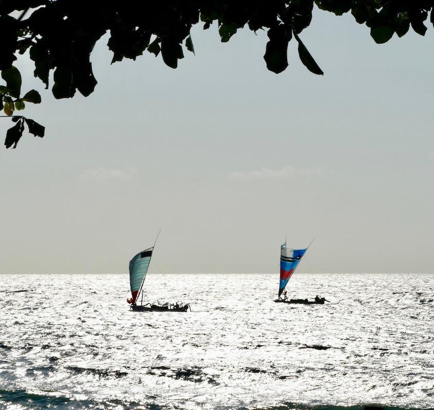 Bateaux de pêcheurs à Amed
