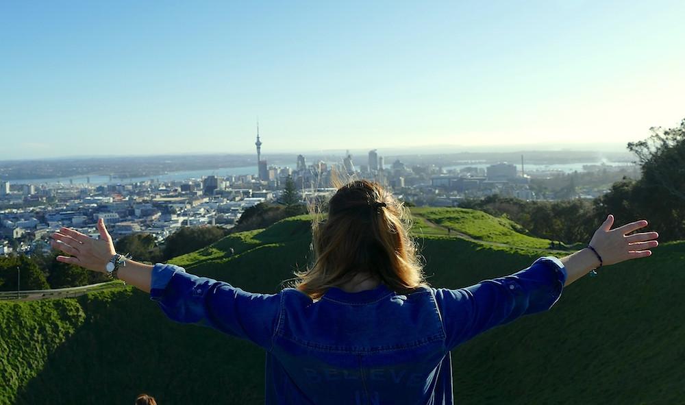 Mont Eden à Auckland