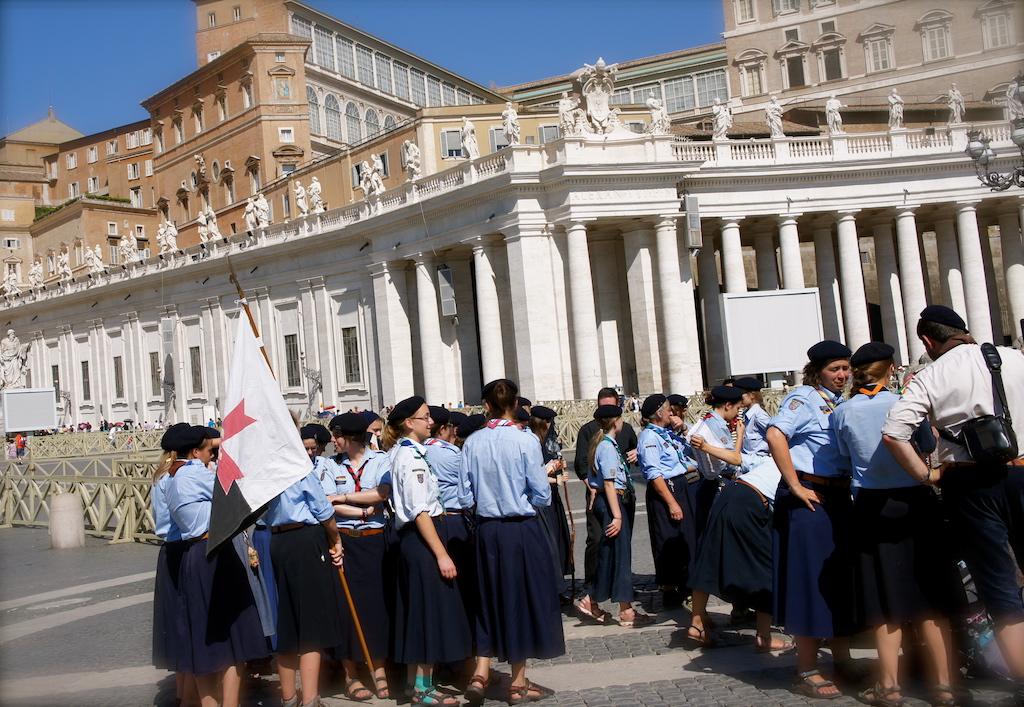 Les scouts au Vatican
