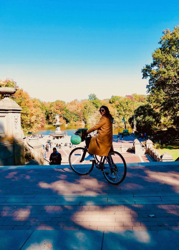 Vélo à Central Park