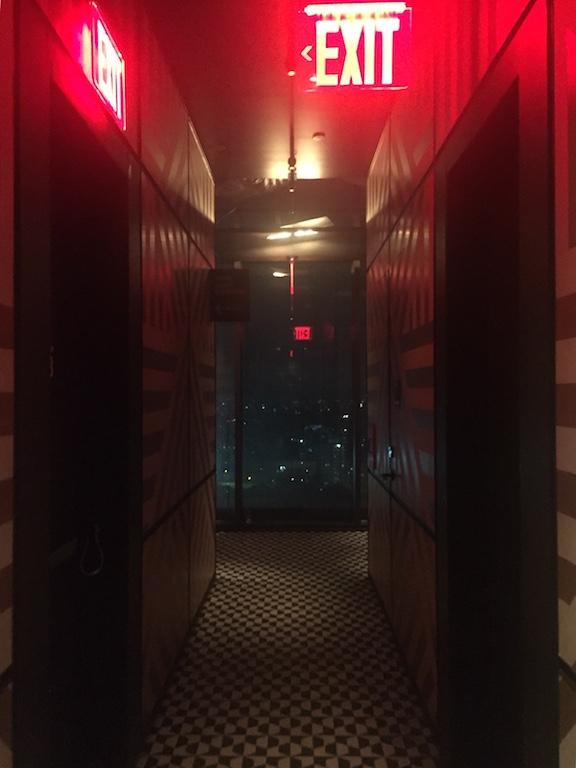 Couloir du Westlight