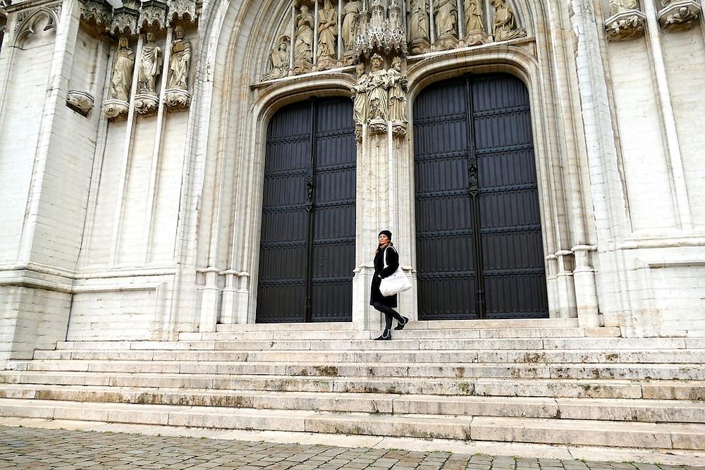 La Cathédrale des Saints-Michel à Bruxelles