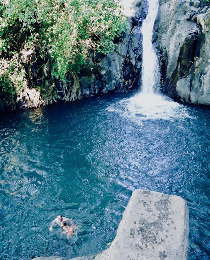 La cascadeAling-Aling