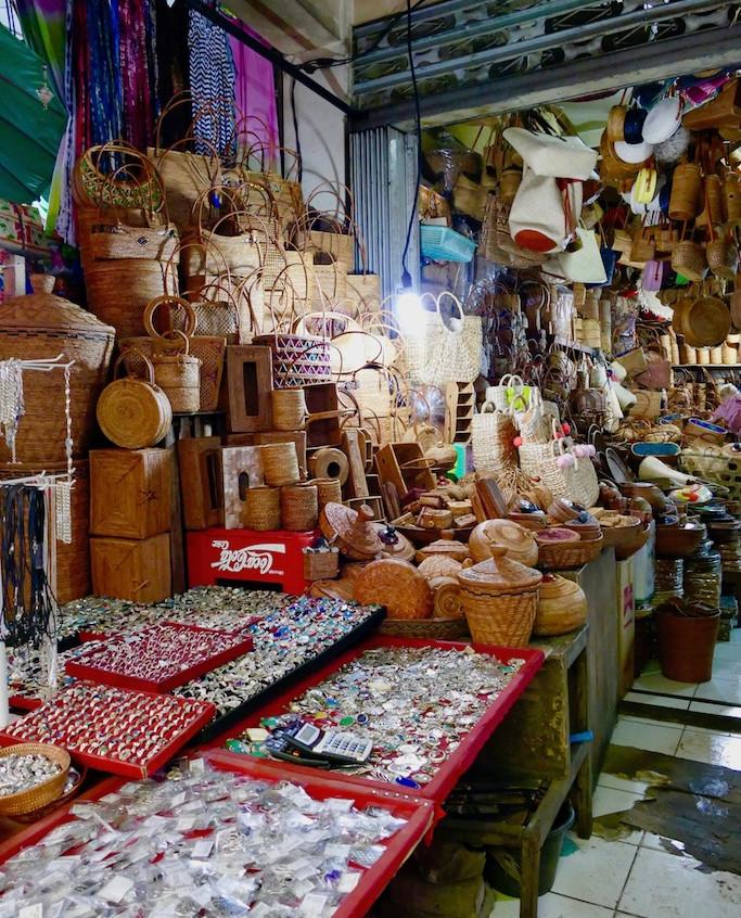 le marché d'Ubud