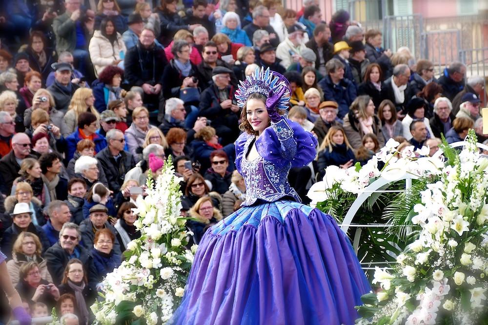 La reine du Carnaval de Nice 2018