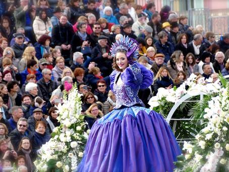 La bataille des fleurs du Carnaval de Nice