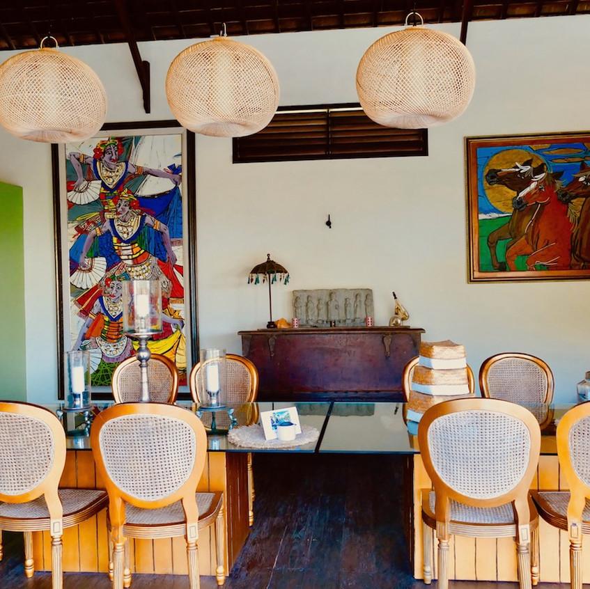 Salle à manger du Le Lautan Ku