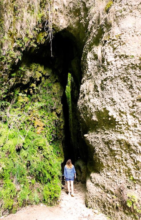 Entrée dans le premier canyon