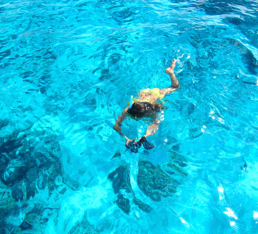 Snorkeling à Bora
