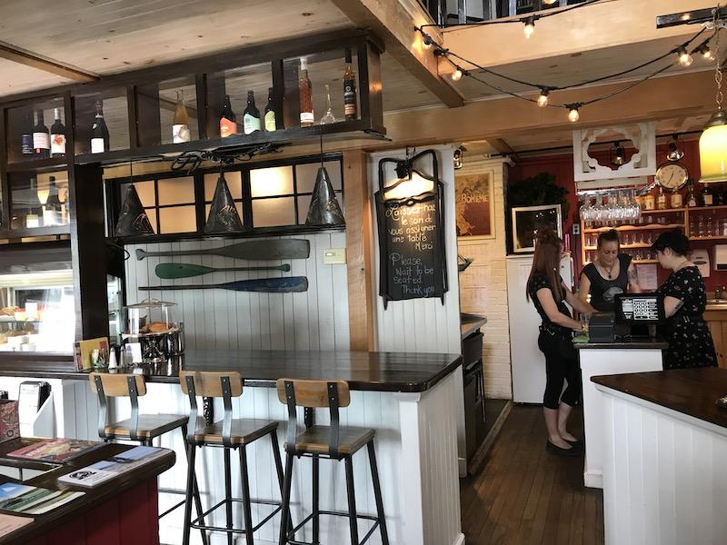 Café Bohème à Tadoussac
