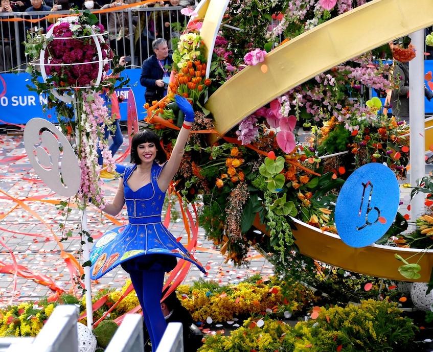 La bataille des fleurs à Nice