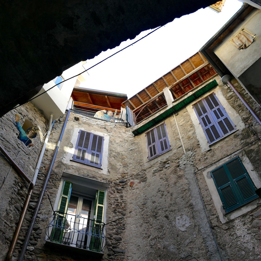 Ruelles du village de Dolceacqua