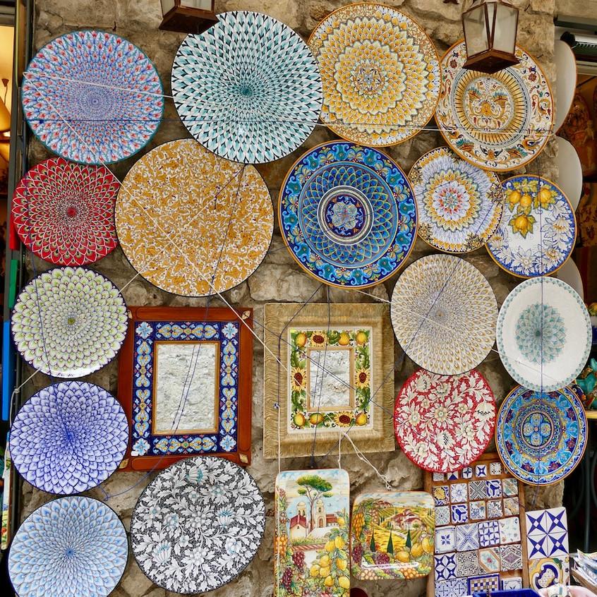 Artisanat de céramique à Ravello