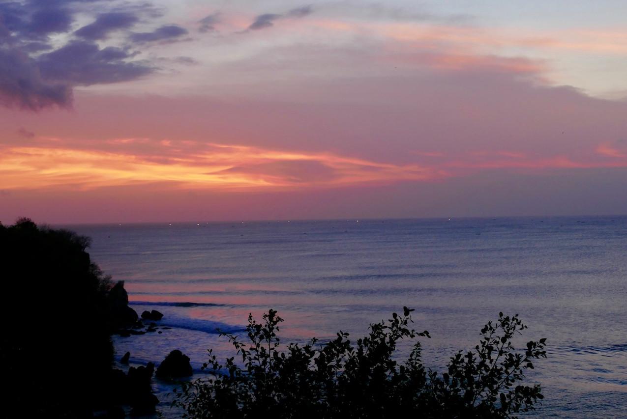 Sunset au SUARGA Padang Padang
