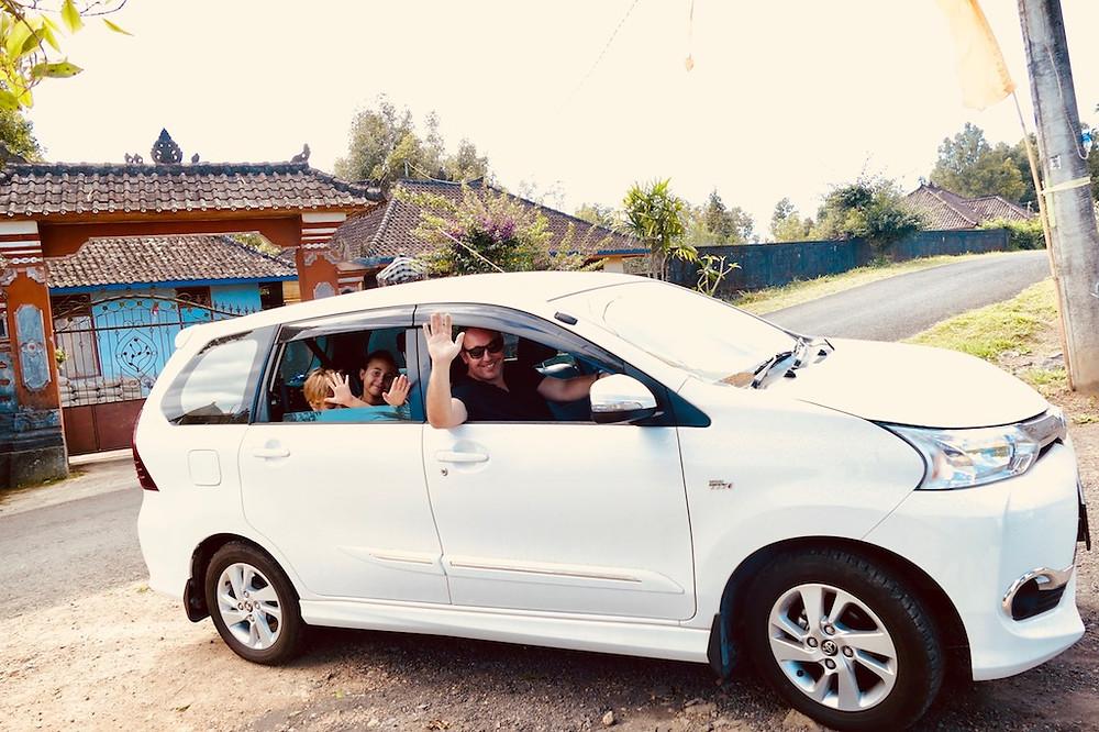 location de voiture à Bali