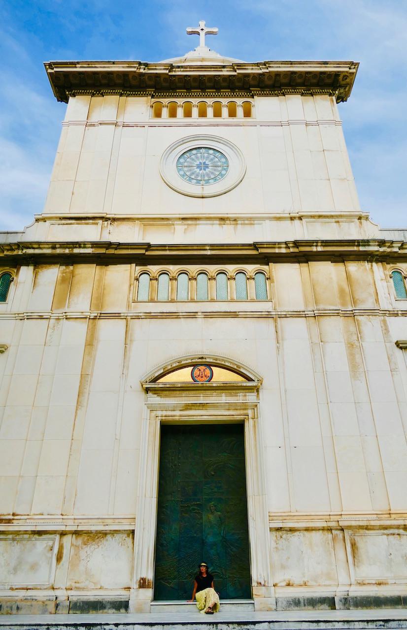 l'église de Positano
