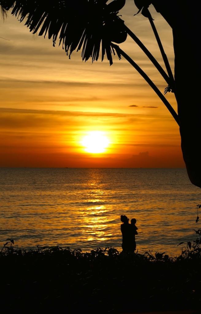 Coucher de soleil au Mango Bay