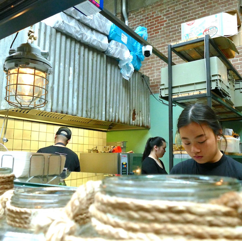 Stand Vietnamien du Foodhallen