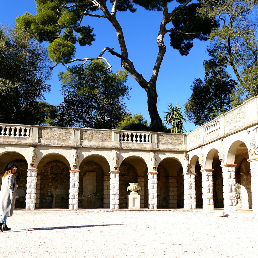 Les jardins du château de Nice