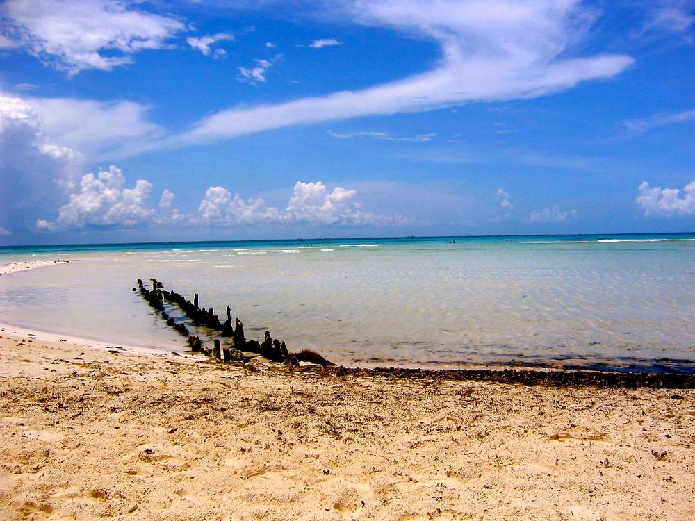Lagon de playa norte à Isla Mujeres