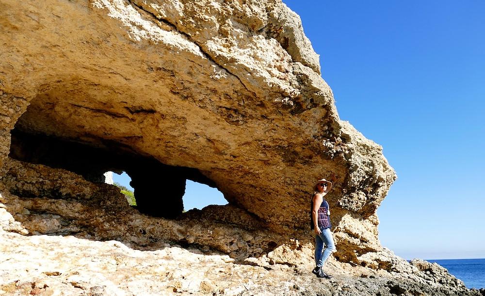 Balade en bateau au Nord d'Ibiza