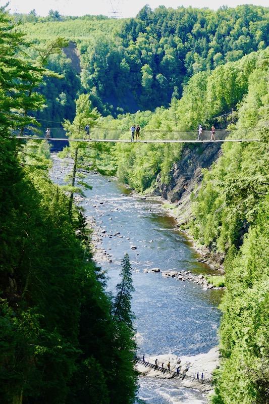Canyon Sainte-Anne à Québec