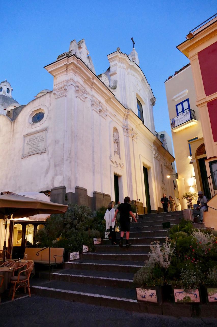 L'église de Capri