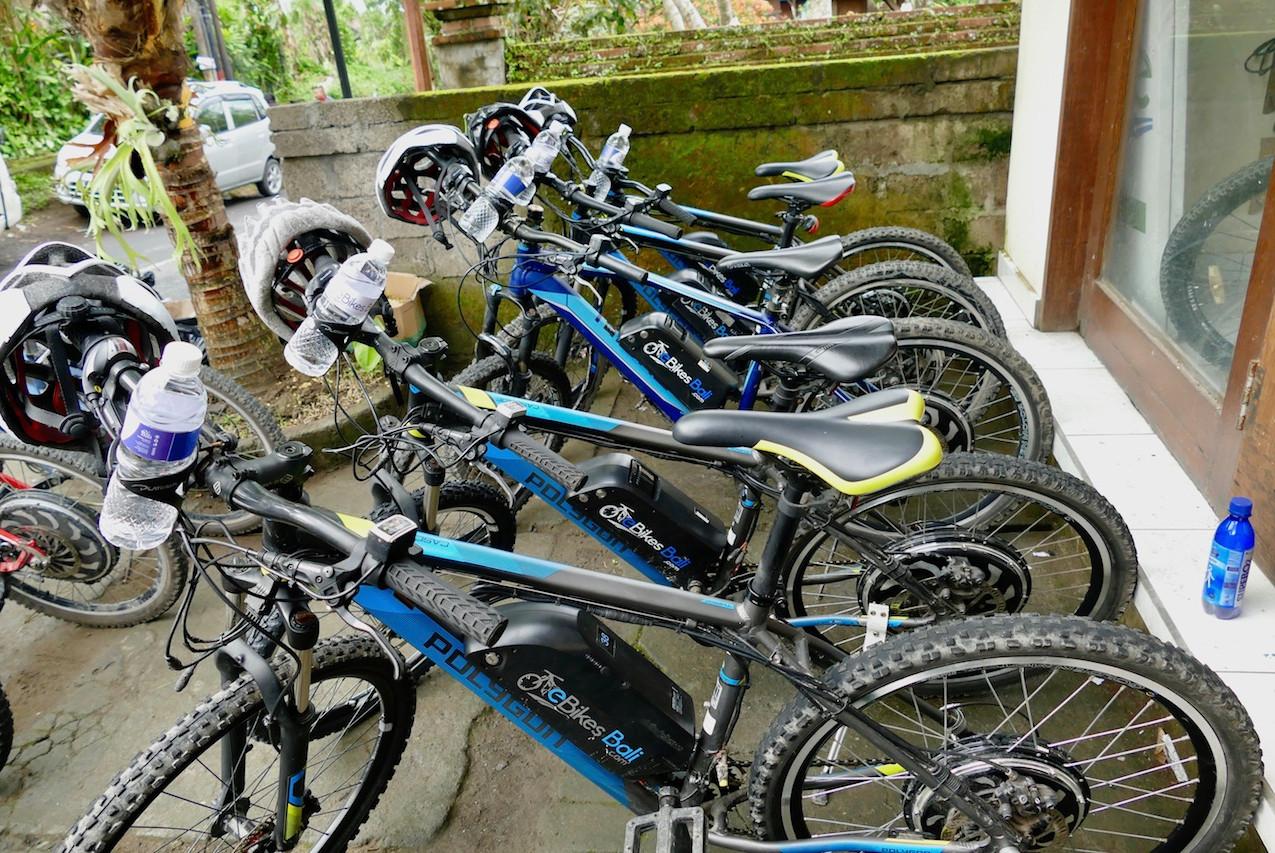 Vélos électrique à Ubud