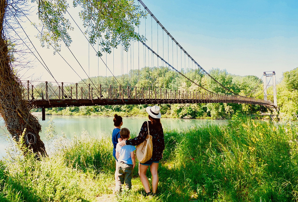 Le pont suspendu des Arméniens