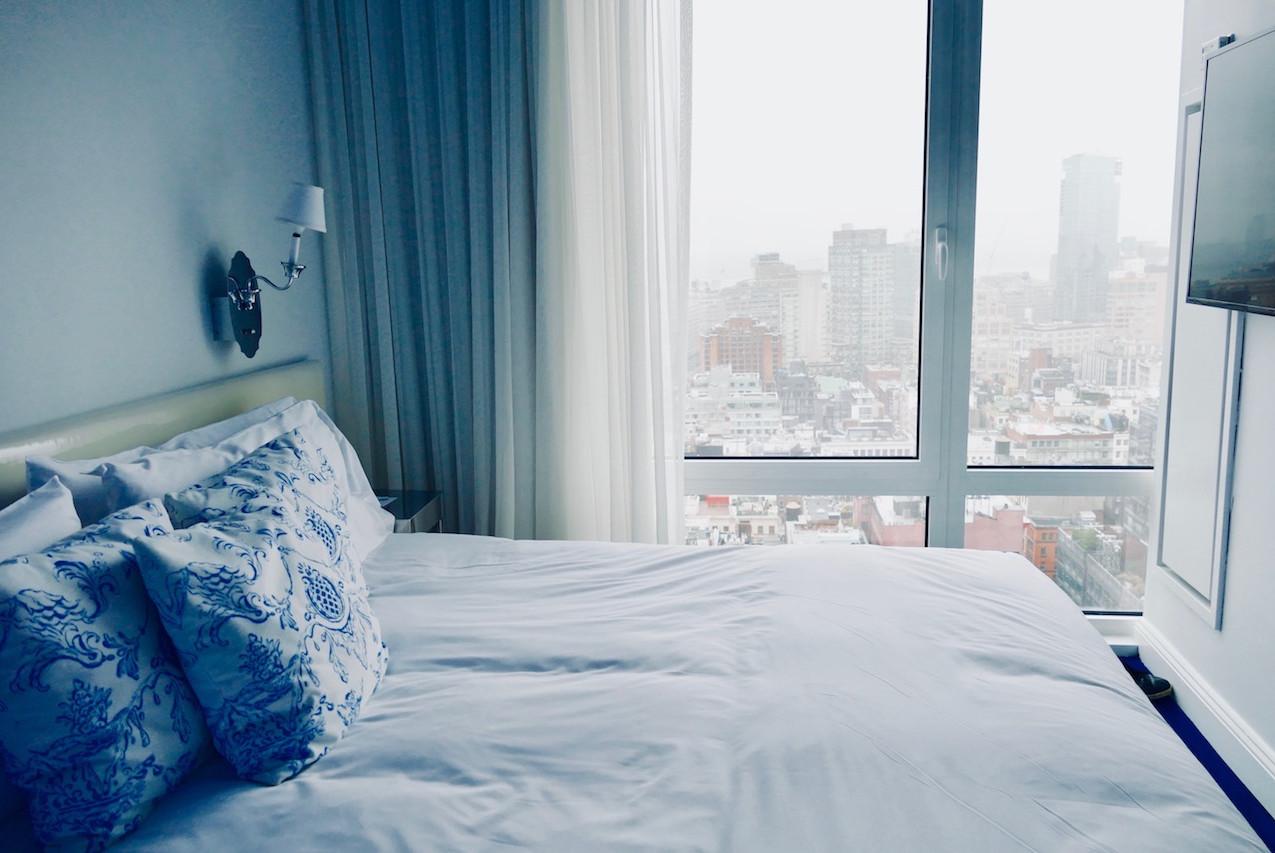 La chambre du Nomo Soho