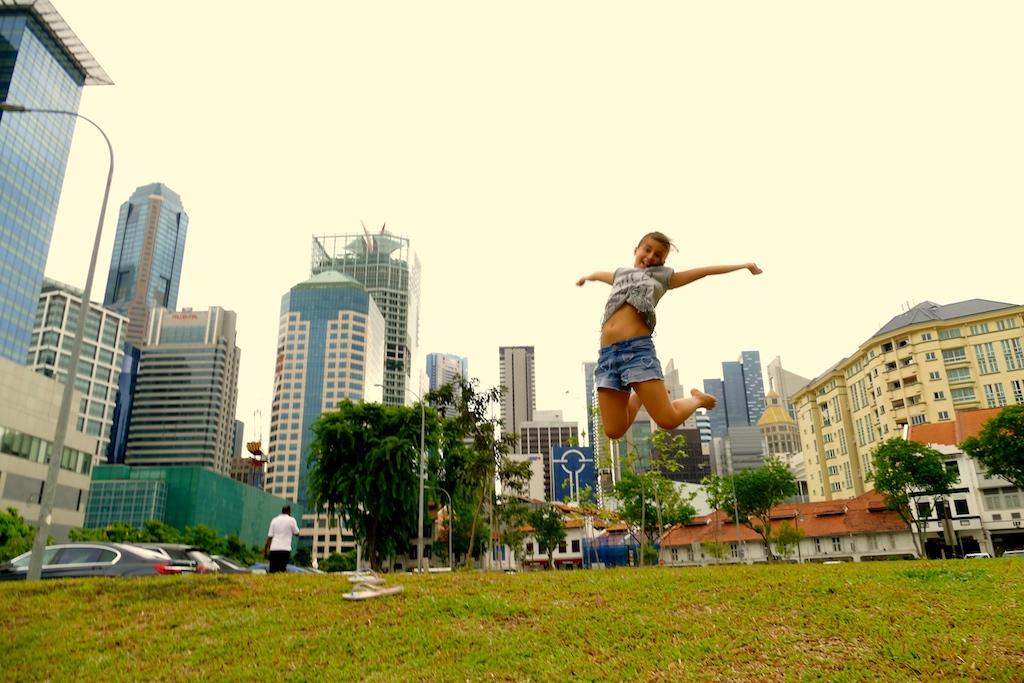 Chinatown à Singapour