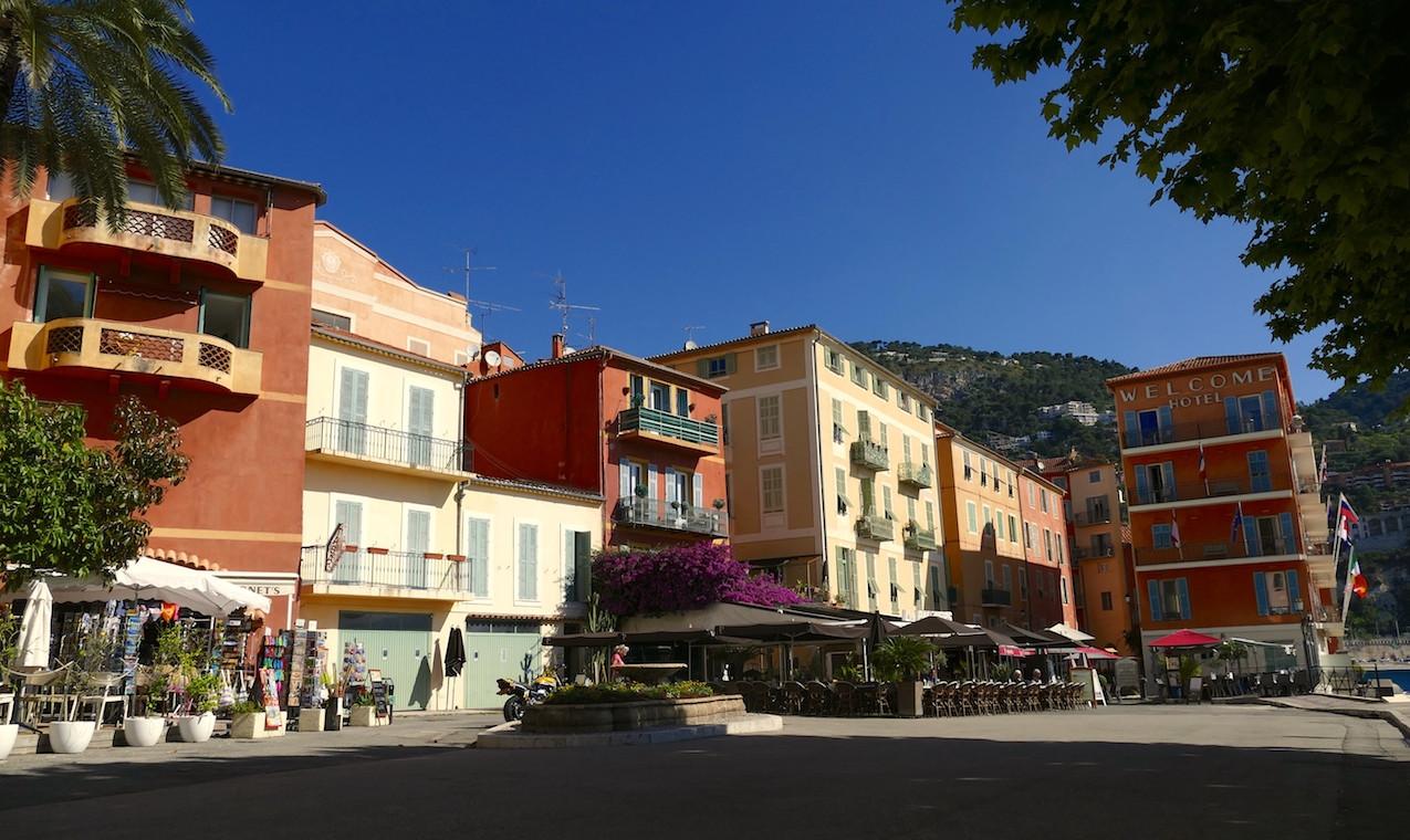 Place du village de Villefranche