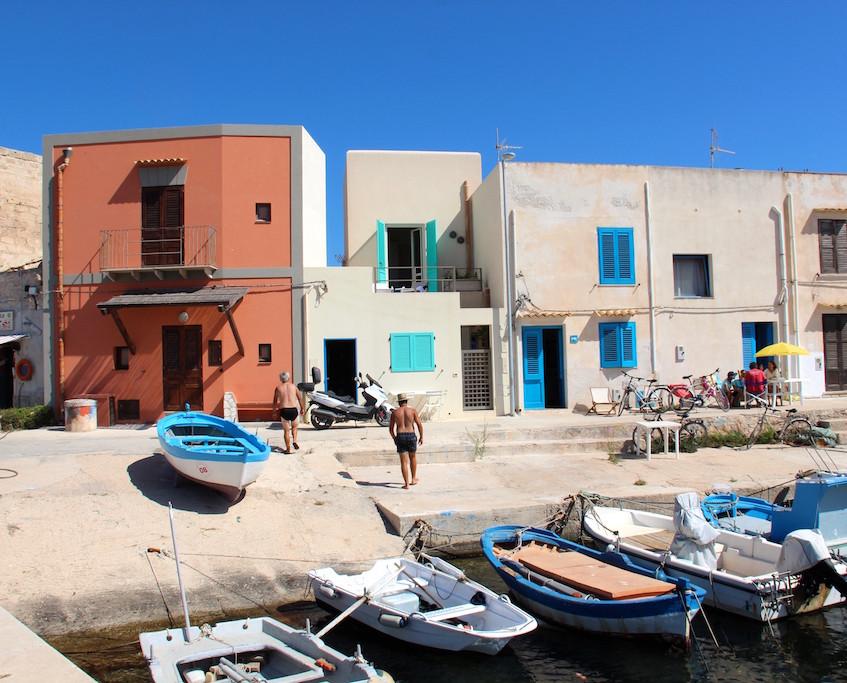 Petit port de pêche de Favignana