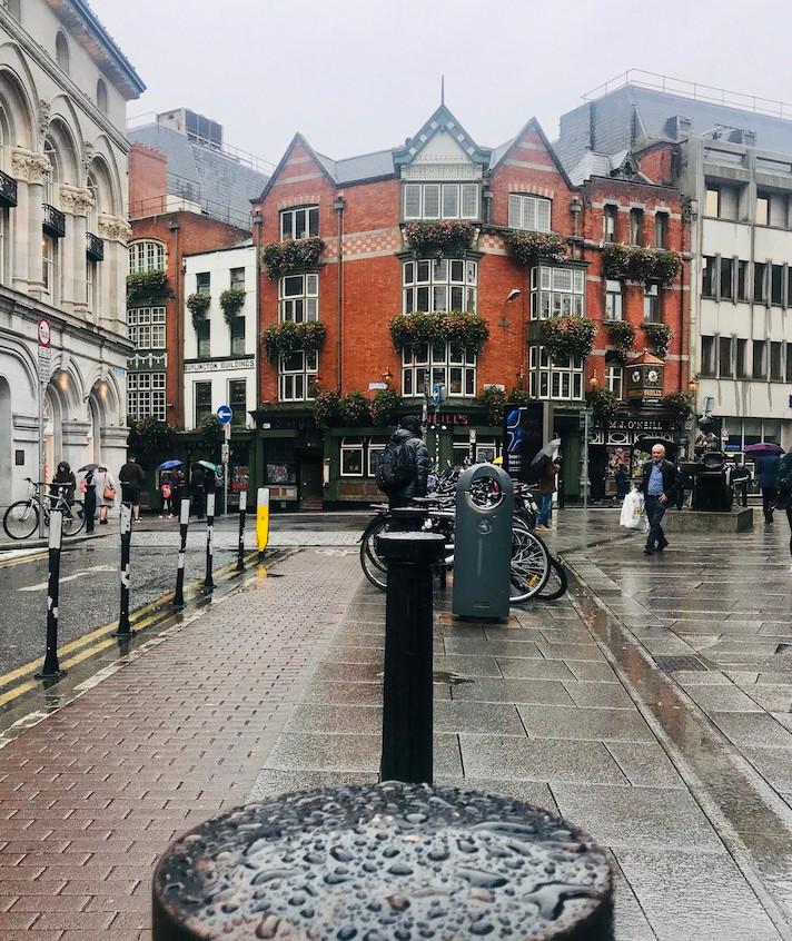 Les ruelles de Dublin