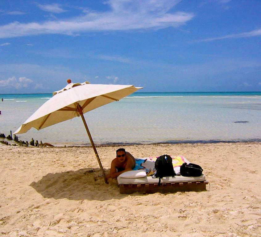 La plage du Na Balam à Isla Mujeres