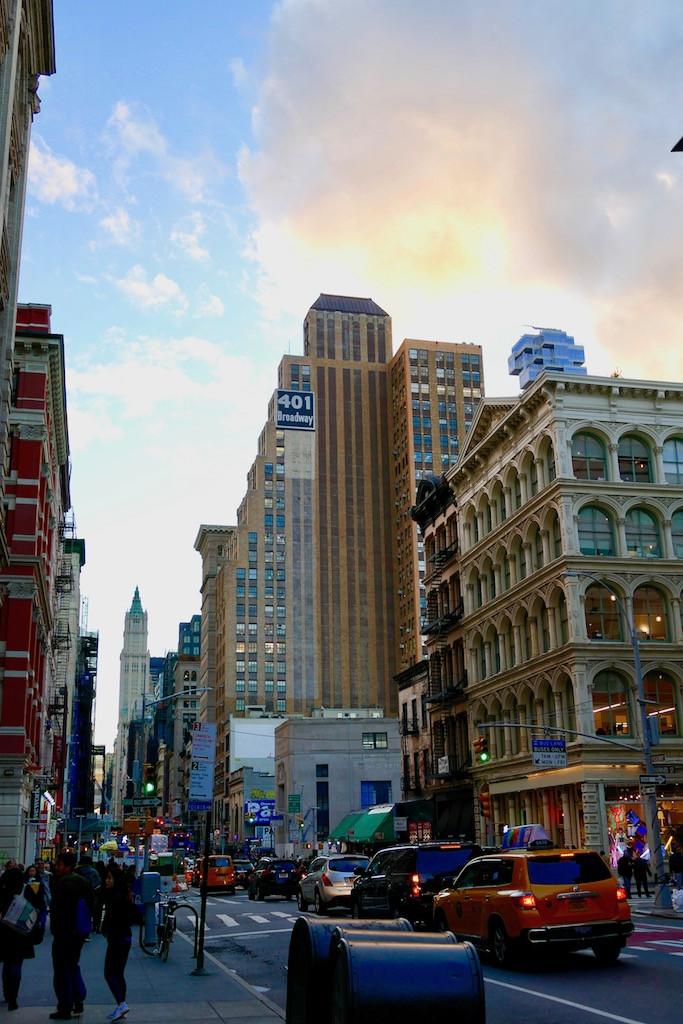 Shopping sur Broadway