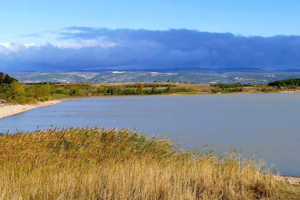 Amarage après Homps, lac de Jouarrès