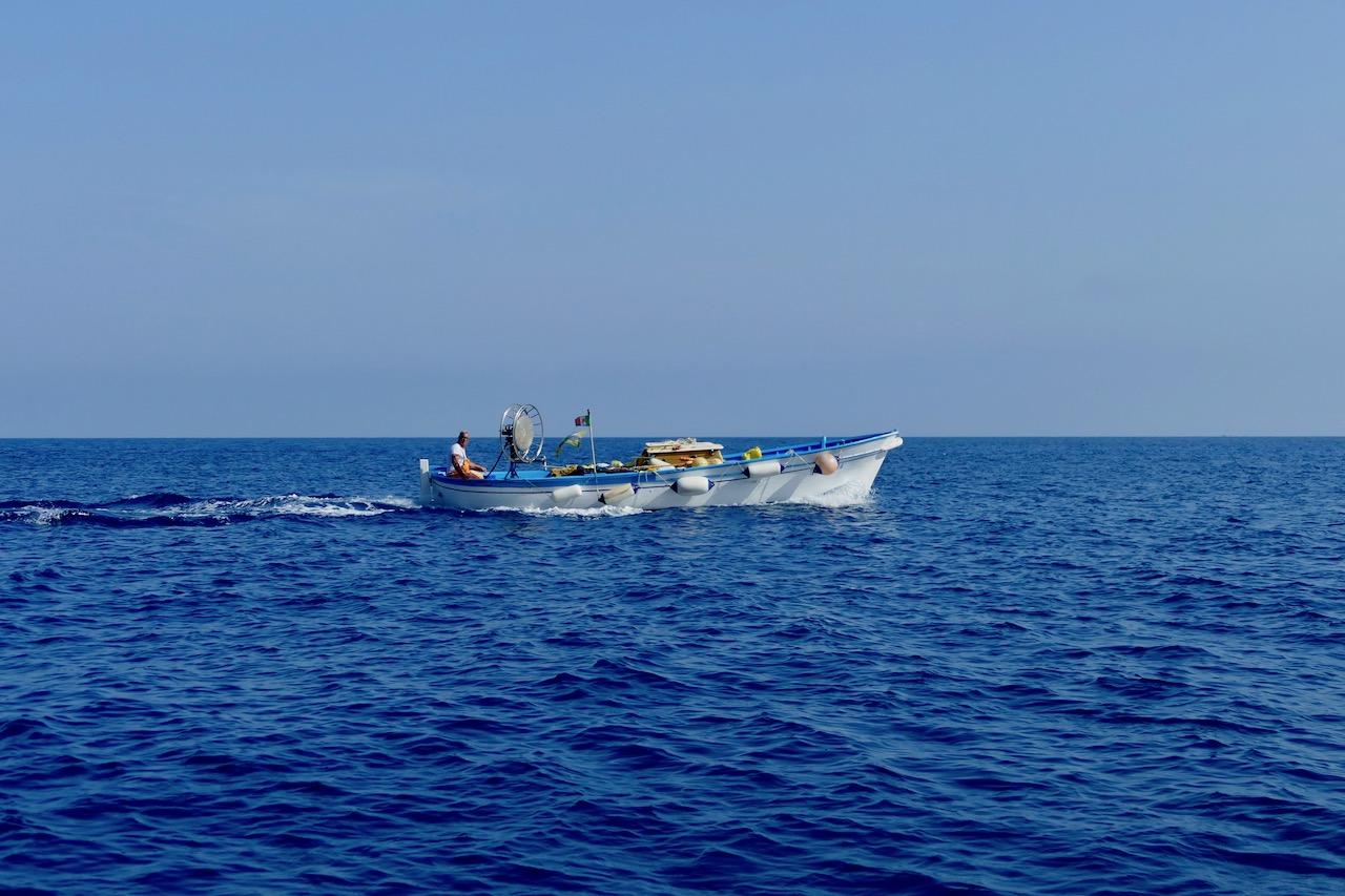 Tour de l'île en bateau à Capri
