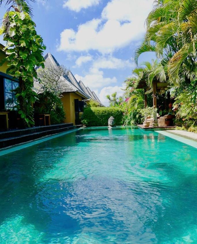 La piscine du Le Lautan Kupu Kupu