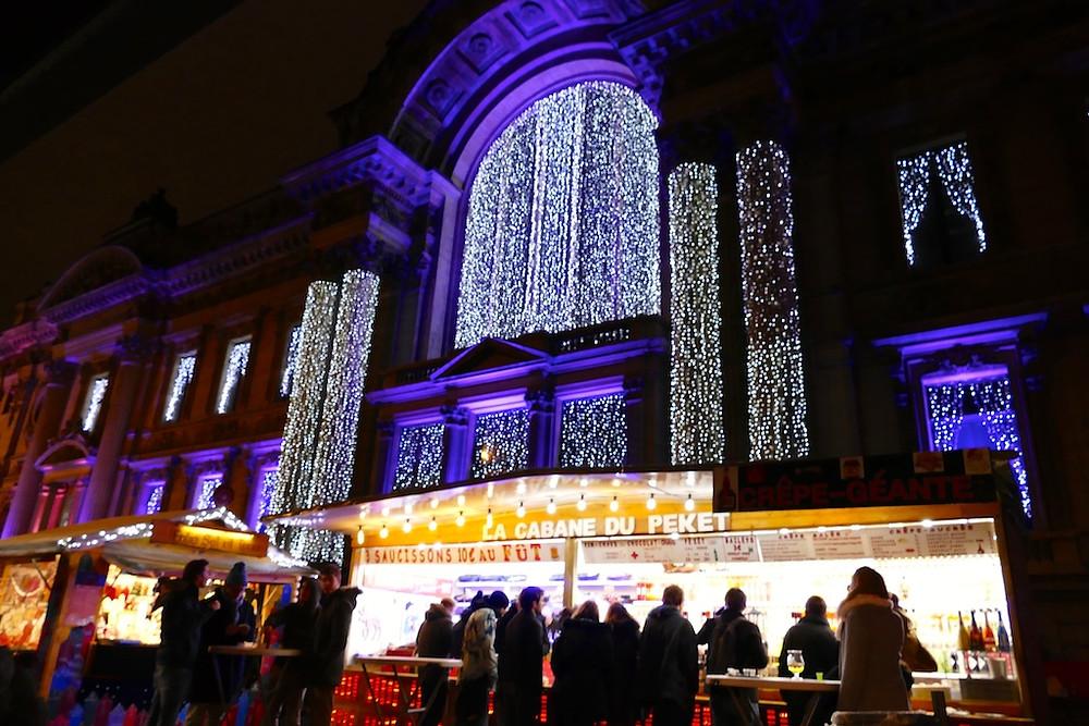 le marché de Noël à Bruxelles