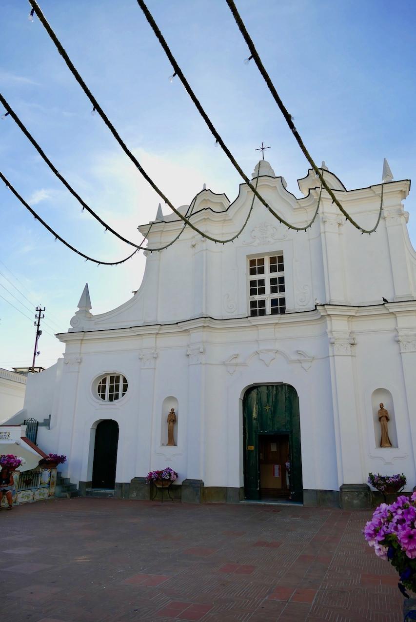 L'église d'Anacapri