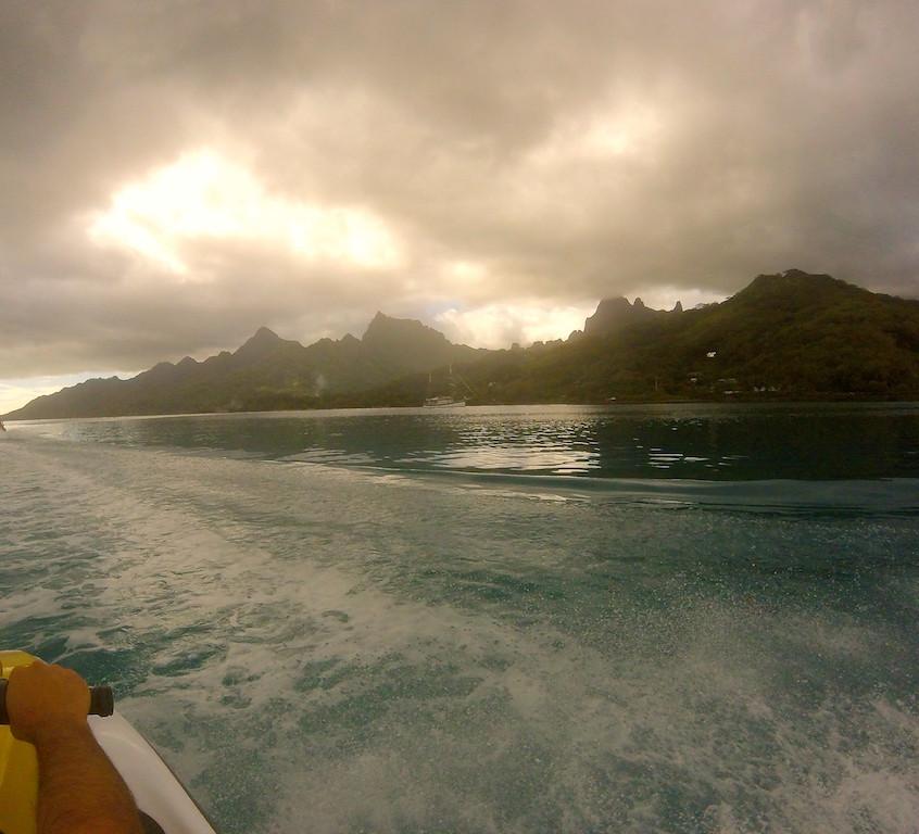 Tour de l'île en jet ski